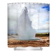 Geysir Shower Curtain