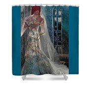 Ghost Bride Shower Curtain
