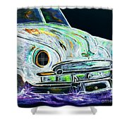 Ghost Car Shower Curtain