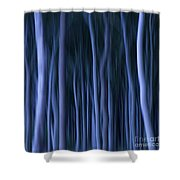 Ghost Forest Shower Curtain