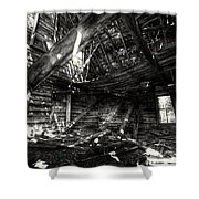 Ghost House Hd Shower Curtain