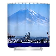Ghost Mountain Shower Curtain