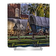 Ghost Of Old West No.1 Shower Curtain