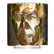 Ghost Of Robert Stanfield Shower Curtain