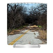 Ghost Road IIi Shower Curtain