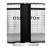 Ghost Station Shower Curtain