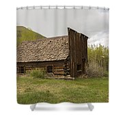 Ghost Town Ashcroft 3 Shower Curtain
