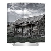 Ghost Town Homestead - Montana Shower Curtain