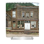 Ghost Town Of Saint Elmo Shower Curtain