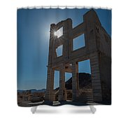 Ghost Town - Rhyolite Shower Curtain
