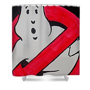 Ghostbuster Shower Curtain