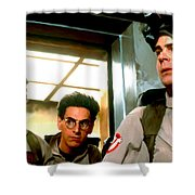 Ghostbusters Shower Curtain by Paul Tagliamonte