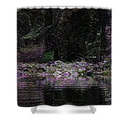 Ghosts In Twilight Shower Curtain