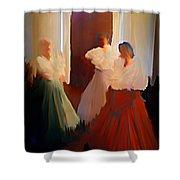 Ghosts Of A Louisianna Plantation Shower Curtain
