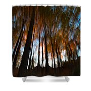 Ghosts Of The Forest Shower Curtain