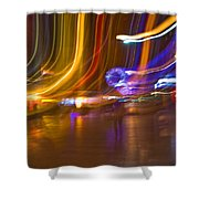Ghosts Of The Lights Shower Curtain