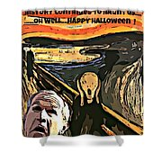 Ghosts Of The Past Shower Curtain