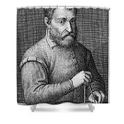 Giacomo Barozzi Da Vignola (1507-1573) Shower Curtain