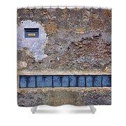Giannini's Wall Shower Curtain