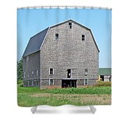 Giant Barn Shower Curtain