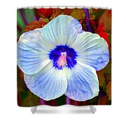 Giant Hibiscus Shower Curtain