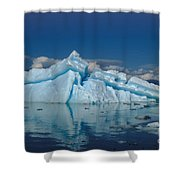 Giant Ice Floes Shower Curtain