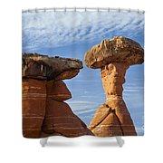 Giant Mushrooms Shower Curtain