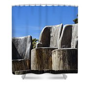 Giant Seats Shower Curtain