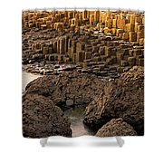 Giants Causeway, Antrim Coast, Northern Shower Curtain