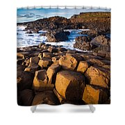Giant's Causeway Surf Shower Curtain