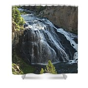 Gibbon Falls I Shower Curtain