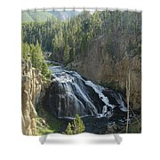 Gibbon River And Falls Shower Curtain