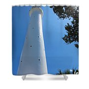 Gibbs Hill Lighthouse Shower Curtain