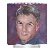 Gibbs Of Ncis Shower Curtain