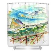 Gibraltar 02 Shower Curtain