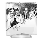 Gibson: American Colony Shower Curtain