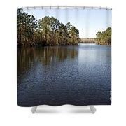 Gibson Pond Shower Curtain