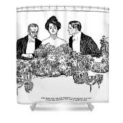 Gibson: Retirement, 1900 Shower Curtain