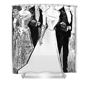 Gibson: The Debutante, 1899 Shower Curtain