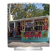 Gift Shop In Key West Shower Curtain
