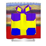 Gift Wrapped Shower Curtain