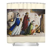Bearing Gifts Shower Curtain