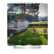 Gig Harbor View 1 Shower Curtain