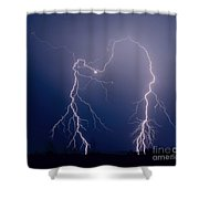 Gila Bend Double Grounded Bolt Shower Curtain