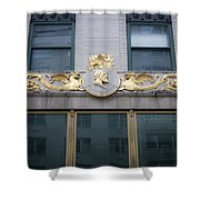 Gilded Beauty Shower Curtain