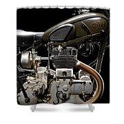 Gilera Vl Militare Motore 1 Shower Curtain