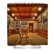 Gillette Castle Gallery Room Shower Curtain