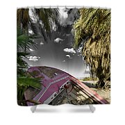 Gilligans Island Black And White 1 Shower Curtain