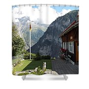 Gimmelwald Shower Curtain