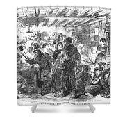 Gin Mill: London, 1861 Shower Curtain